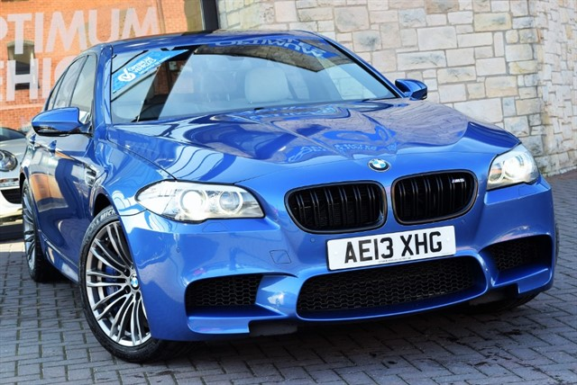 used BMW M5 4.4 M DCT 4dr in york-yorkshire