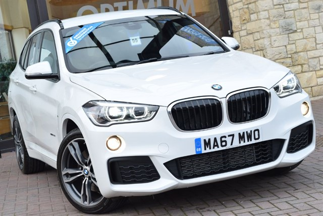 used BMW X1 XDRIVE20I M SPORT in york-yorkshire
