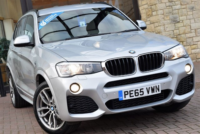 used BMW X3 XDRIVE20D M SPORT in york-yorkshire