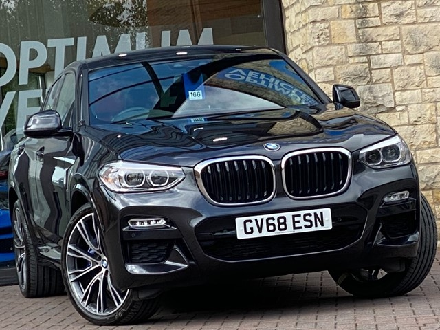 used BMW X4  XDRIVE30D M SPORT in york-yorkshire