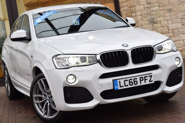 used BMW X4  XDRIVE20D M SPORT in york-yorkshire