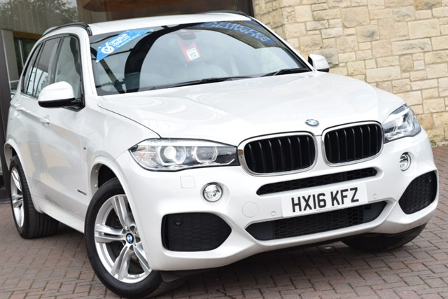 used BMW X5 SDRIVE25D M SPORT in york-yorkshire
