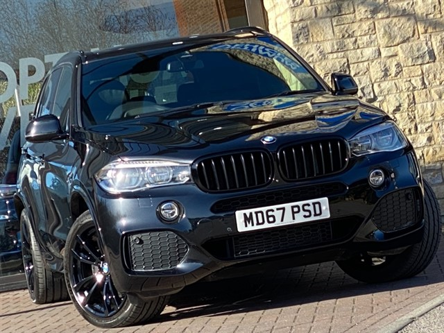used BMW X5 XDRIVE40D M SPORT in york-yorkshire