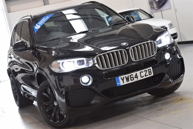 used BMW X5 XDRIVE40D M SPORT in yorkshire