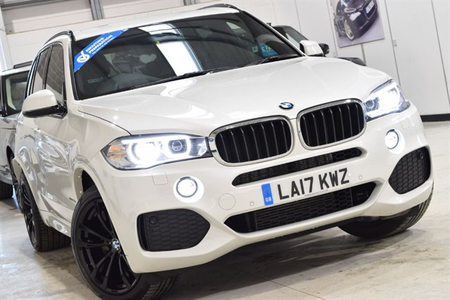 used BMW X5 XDRIVE30D M SPORT in yorkshire