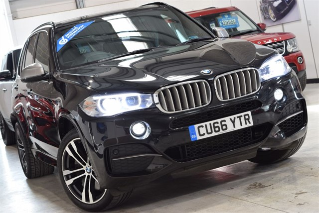 used BMW X5 M 50D in yorkshire