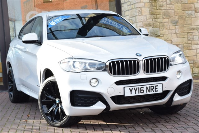 used BMW X6 XDRIVE40D M SPORT in york-yorkshire