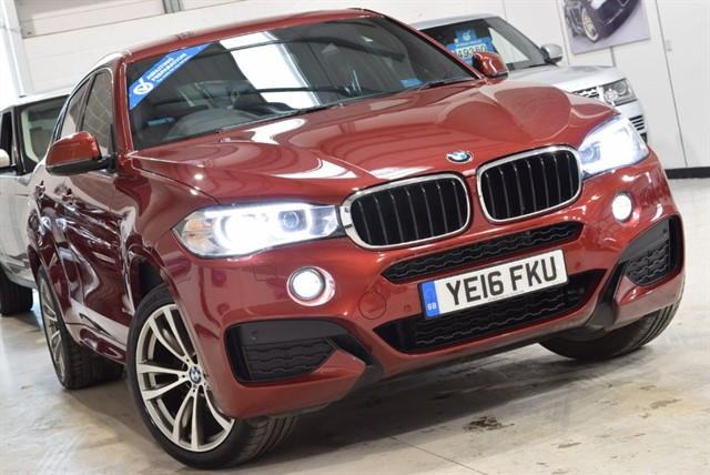 used BMW X6 XDRIVE30D M SPORT in yorkshire