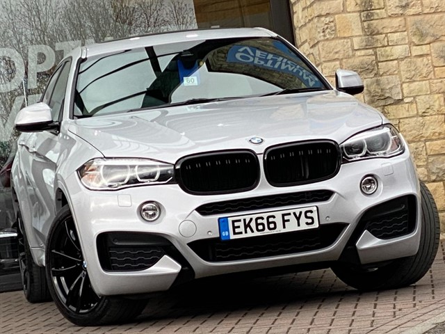 used BMW X6 XDRIVE30D M SPORT in york-yorkshire