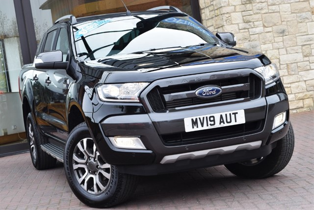 used Ford Ranger WILDTRAK 4X4 DCB TDCI in york-yorkshire