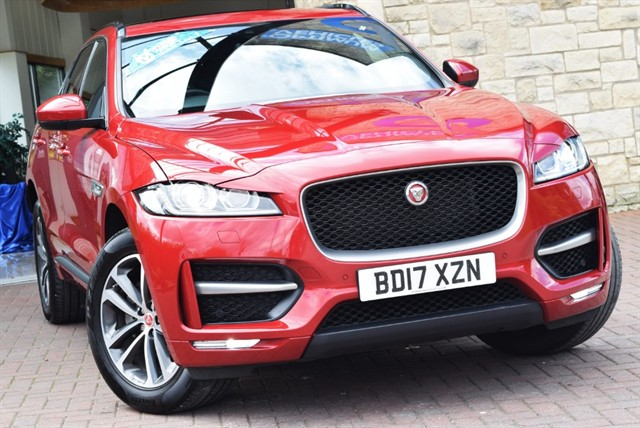 used Jaguar F-Pace R-SPORT AWD in york-yorkshire