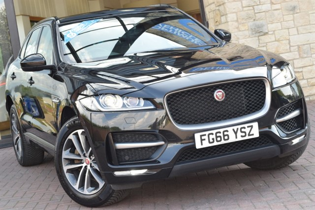 used Jaguar F-Pace R-SPORT in york-yorkshire