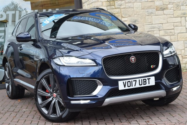 used Jaguar F-Pace V6 S AWD in york-yorkshire