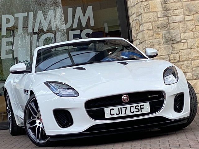 used Jaguar F-Type V6 R-DYNAMIC in york-yorkshire