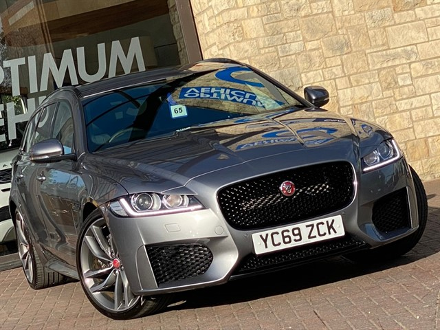 used Jaguar XF CHEQUERED FLAG AUTO AWD in york-yorkshire