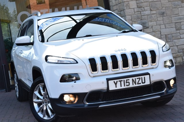 used Jeep Cherokee M-JET LIMITED in york-yorkshire