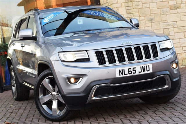 used Jeep Grand Cherokee V6 CRD LIMITED PLUS in york-yorkshire