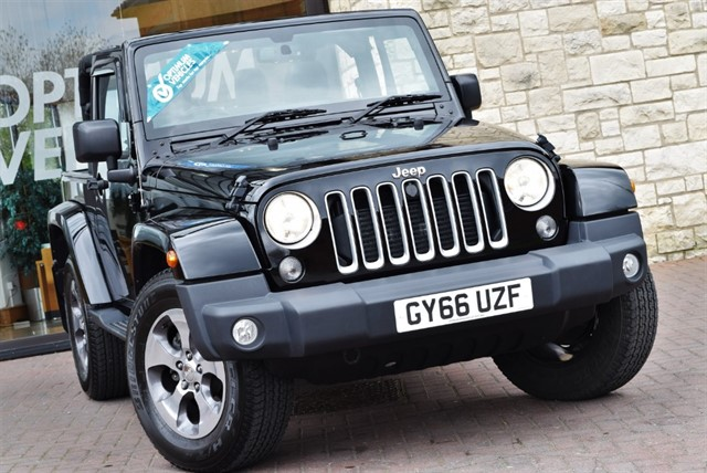 used Jeep Wrangler CRD SAHARA in york-yorkshire