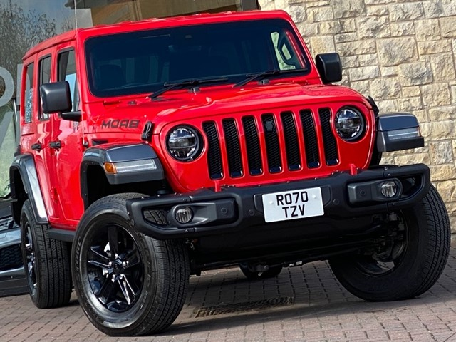 used Jeep Wrangler NIGHT EAGLE UNLIMITED in york-yorkshire
