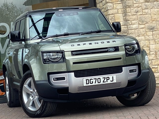 used Land Rover Defender 110 FIRST EDITION SD4 AUTO in york-yorkshire