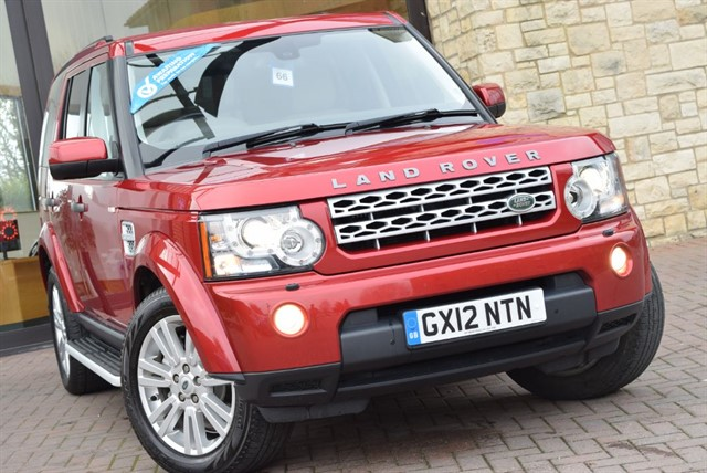 used Land Rover Discovery 4 SDV6 XS in york-yorkshire