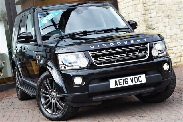 used Land Rover Discovery SDV6 GRAPHITE in york-yorkshire