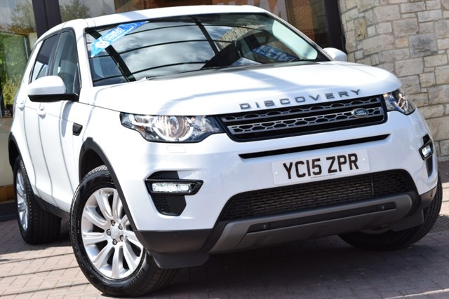 used Land Rover Discovery Sport SD4 SE TECH in york-yorkshire