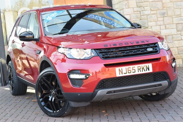 used Land Rover Discovery Sport TD4 SE TECH in york-yorkshire