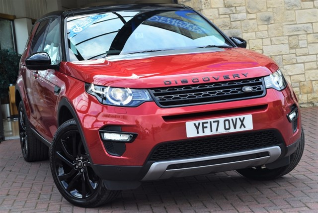 used Land Rover Discovery Sport TD4 HSE LUXURY in york-yorkshire
