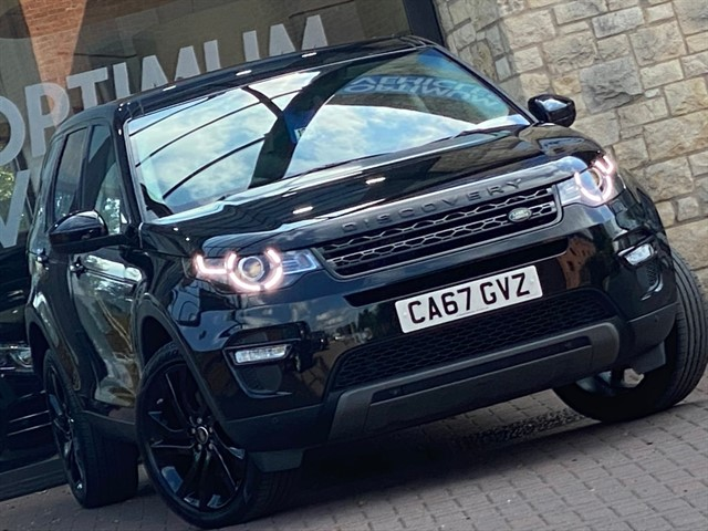 used Land Rover Discovery Sport TD4 HSE BLACK in york-yorkshire