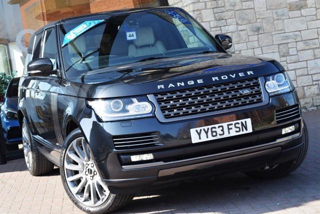 used Land Rover Range Rover SDV8 VOGUE SE in york-yorkshire