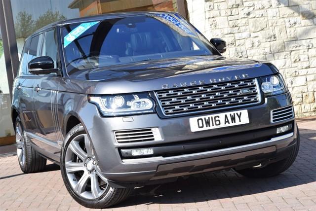 used Land Rover Range Rover V8 SVAUTOBIOGRAPHY in york-yorkshire