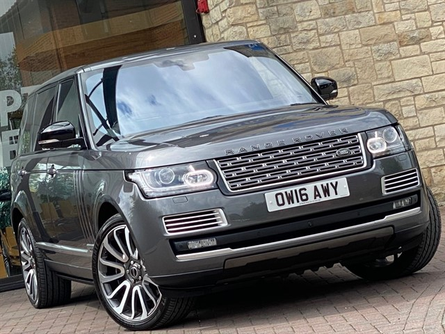 used Land Rover Range Rover V8 SV AUTOBIOGRAPHY LWB in york-yorkshire