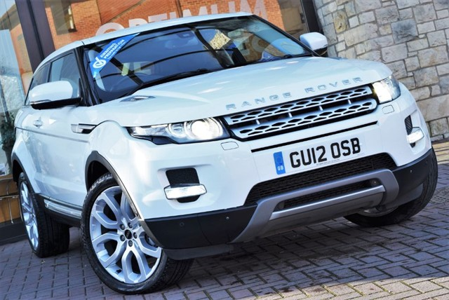 used Land Rover Range Rover Evoque SD4 PRESTIGE LUX in york-yorkshire