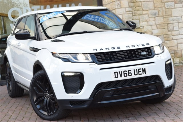 used Land Rover Range Rover Evoque TD4 HSE DYNAMIC in york-yorkshire
