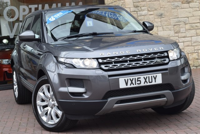 used Land Rover Range Rover Evoque ED4 PURE TECH in york-yorkshire