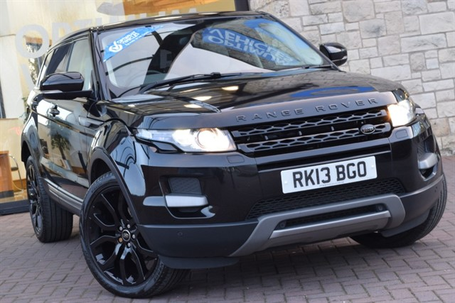 used Land Rover Range Rover Evoque SD4 PURE TECH in york-yorkshire