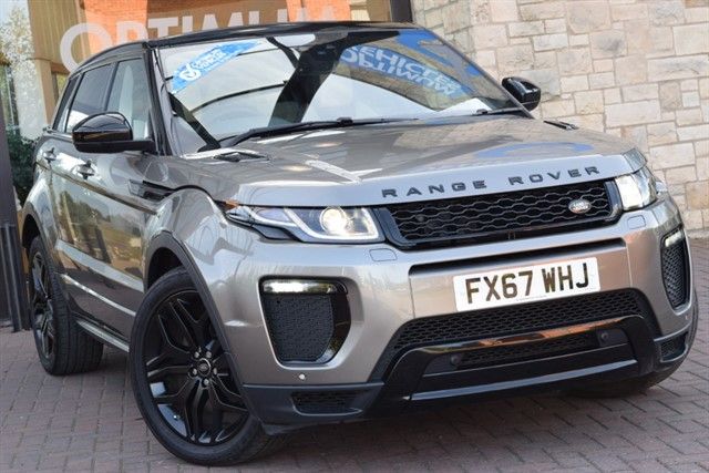 used Land Rover Range Rover Evoque SD4 HSE DYNAMIC in york-yorkshire