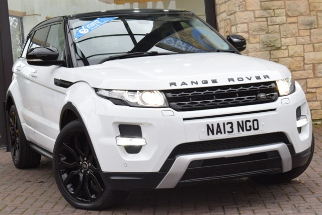 used Land Rover Range Rover Evoque SD4 DYNAMIC in york-yorkshire