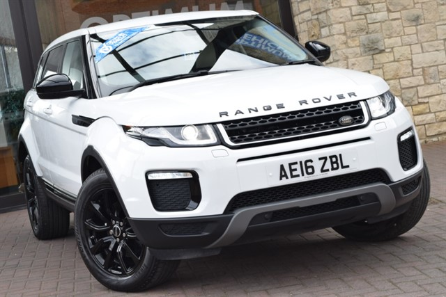 used Land Rover Range Rover Evoque TD4 SE TECH in york-yorkshire