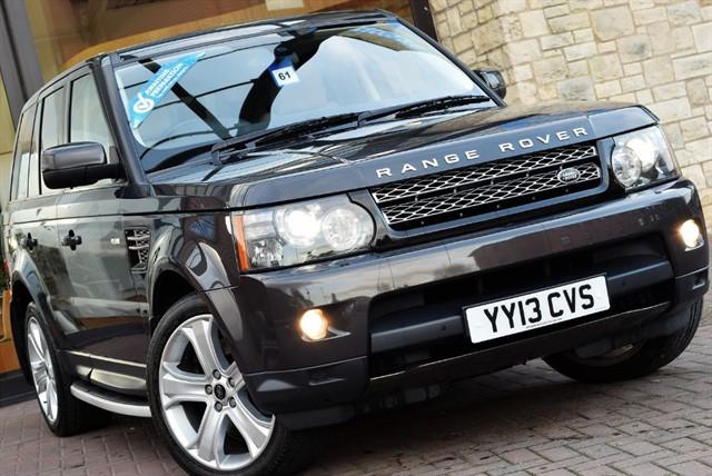 used Land Rover Range Rover Sport SDV6 HSE BLACK in york-yorkshire
