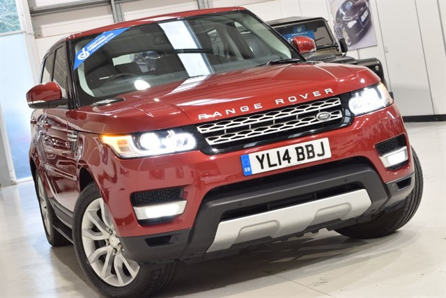 used Land Rover Range Rover Sport SDV6 HSE in yorkshire