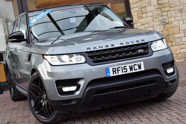used Land Rover Range Rover Sport SDV6 HSE BLACK EDITION in york-yorkshire