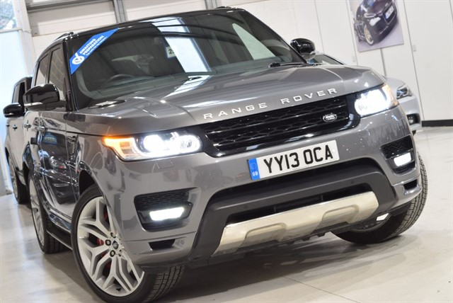 used Land Rover Range Rover Sport V8 AUTOBIOGRAPHY DYNAMIC in yorkshire