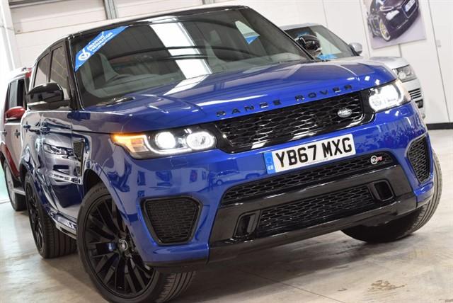 used Land Rover Range Rover Sport V8 SVR in yorkshire