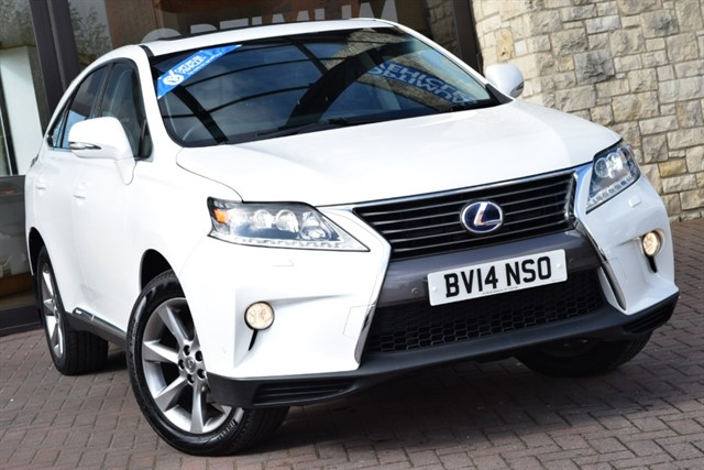 used Lexus RX 450H ADVANCE SUN ROOF in york-yorkshire