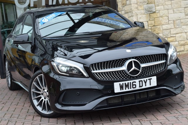 used Mercedes A200 D AMG LINE PREMIUM PLUS in york-yorkshire