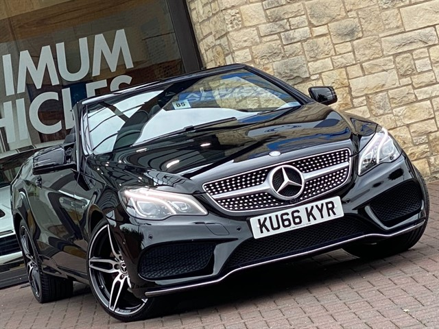 used Mercedes 220 E  D AMG LINE EDITION in york-yorkshire