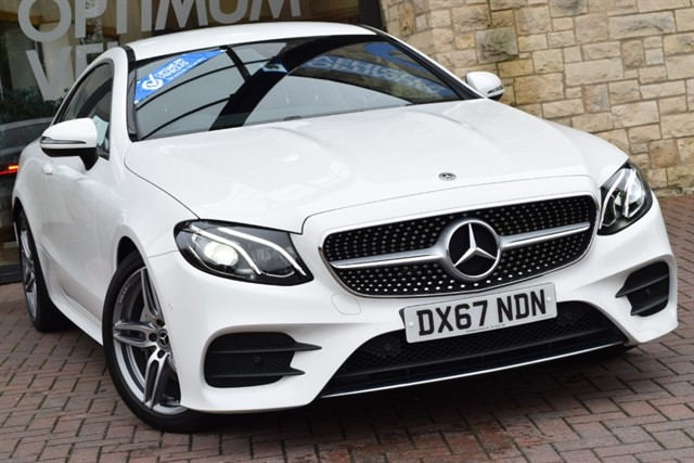 used Mercedes 220 E  D AMG LINE in york-yorkshire
