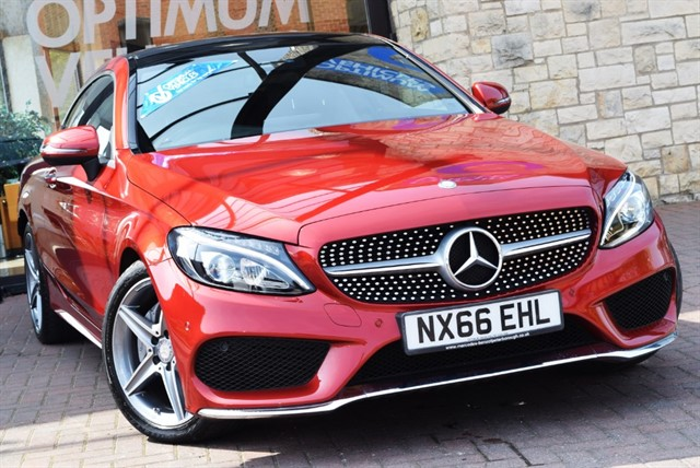 used Mercedes C220 D AMG LINE PREMIUM PLUS in york-yorkshire